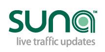 SUNA Live Traffic