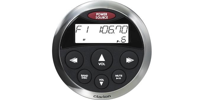 clarion cmrc bss watertight marine remote control lcd screen clarion remote control compatibility guide