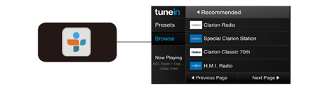 TuneIn® Internet Radio