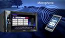 Modul Parrot Bluetooth® umožňuje bezproblémové hands-free telefonování.