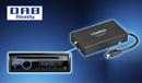DAB-kompatibel (separat erhältlicher DAB302E-Tuner erforderlich)