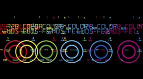 Beleuchtung in 728 verschiedenen Farben
