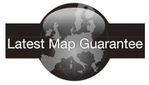 Garantiert aktuelle Kartendaten