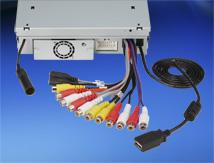 Salida de preamplificador de audio de 2 voltios y 6 canales