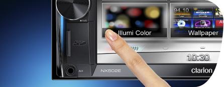 Éclairage à 728 couleurs variables