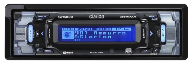 Clarion UK | CLARION DXZ778RUSB: Best Sound Quality with Intuitive ...