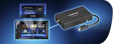 Compatibilit� DAB (DAB302E � venduto separatamente)