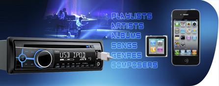 Divertimento senza complicazioni grazie alla connettività iPod e iPhone ad alta qualità