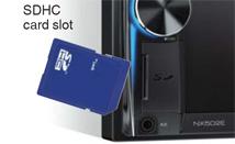 Compatibile con schede SDHC