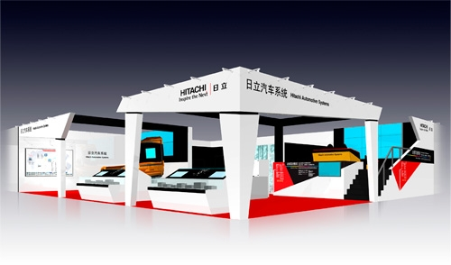 Conceptual image of the booth