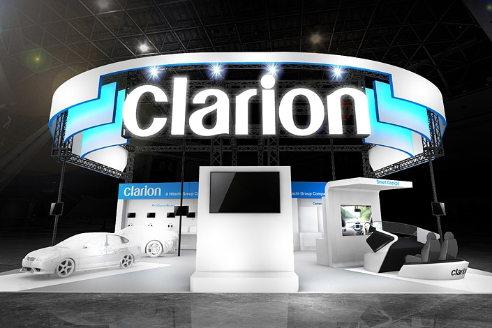 Clarion CEATEC 2016 Booth