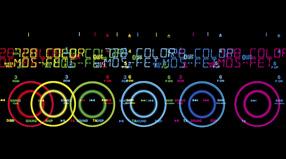 728 вариантов цветов подсветки