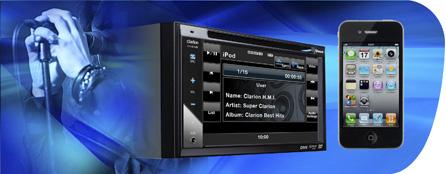 Органичная совместимость с iPod® и iPhone® для истинного удовольствия