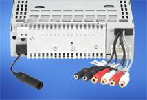 2V/4-kanálový predbežný zvukový výstup