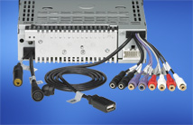 5V / 6-channel audio pre-out