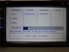 clarion nz501e firmware